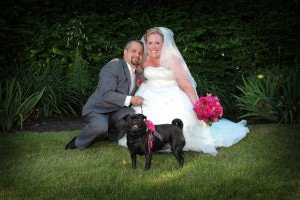 wedding concierge is one of the many pet care services that Muddy Paws dog walking and pet sitting offers